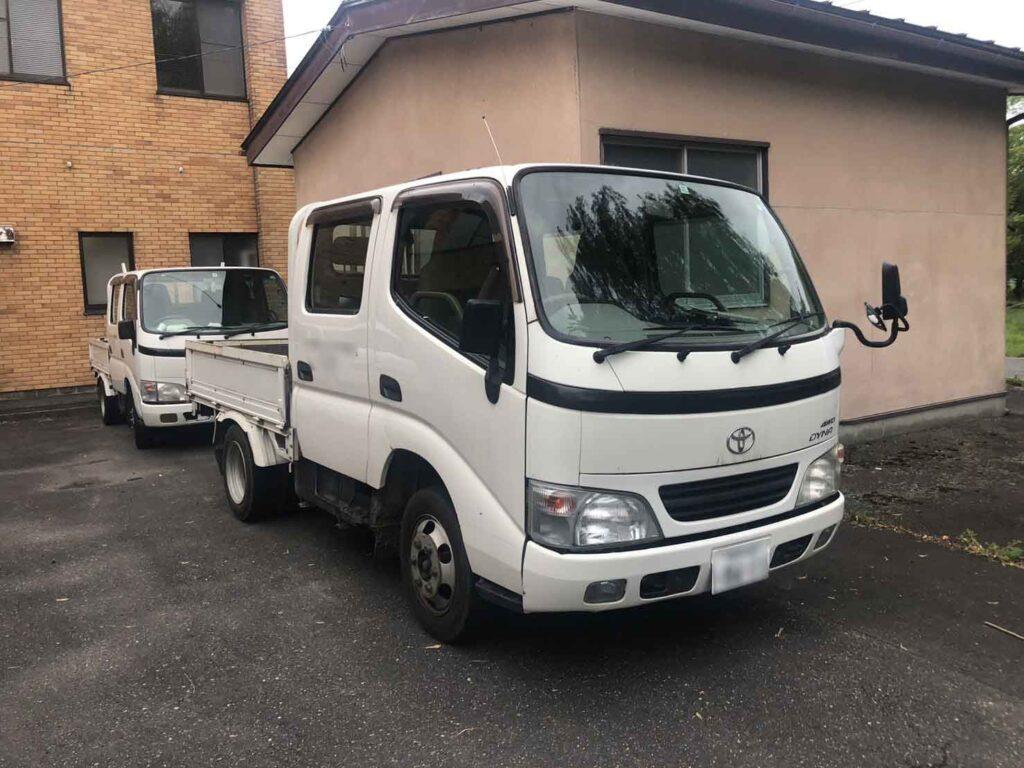 トラック トヨタ ダイナ (1.5tダブルキャブ)買取事例画像