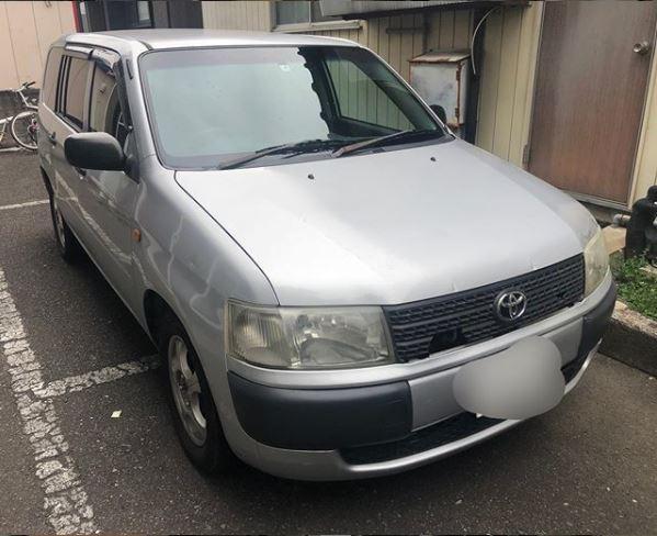 トヨタ車種:プロボックス買取実績ご紹介6万円買取画像